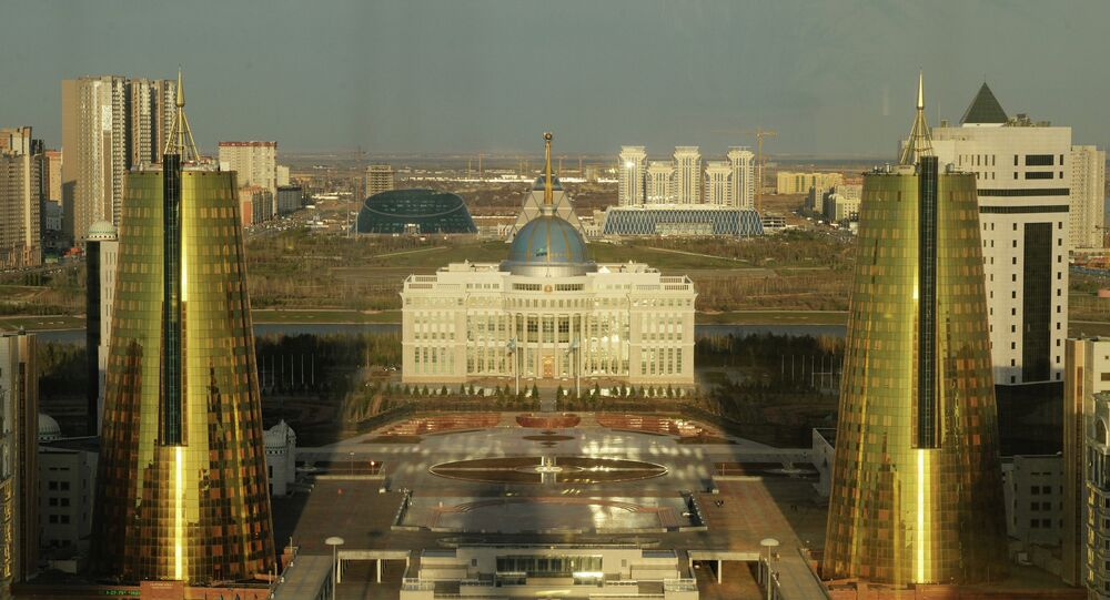 The Ak Orda presidential palace in Astana.