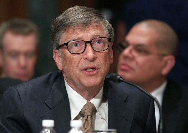 Bill Gates, Microsoft co-founder and co-chair of the Bill and Melinda Gates Foundation