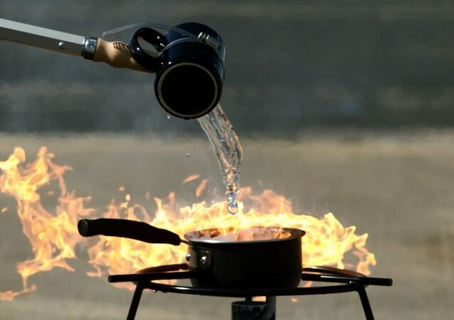 What Not to do with an Oil Fire