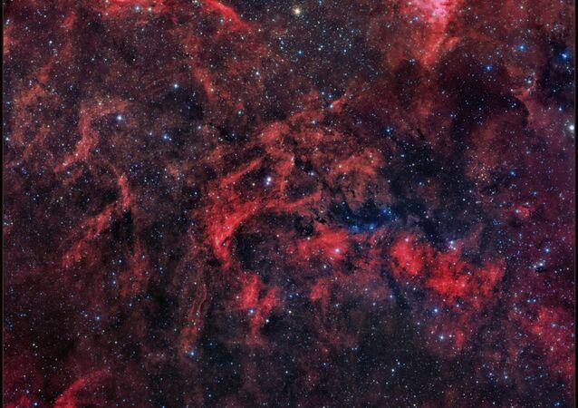 Part of the Gamma Cygni region