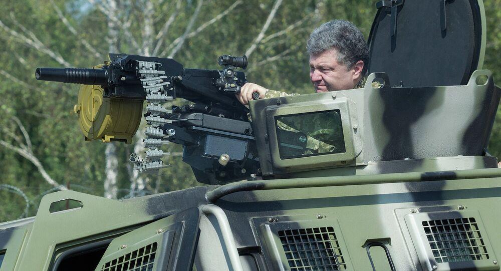 Petro Poroshenko visits First operational brigade of National Guard