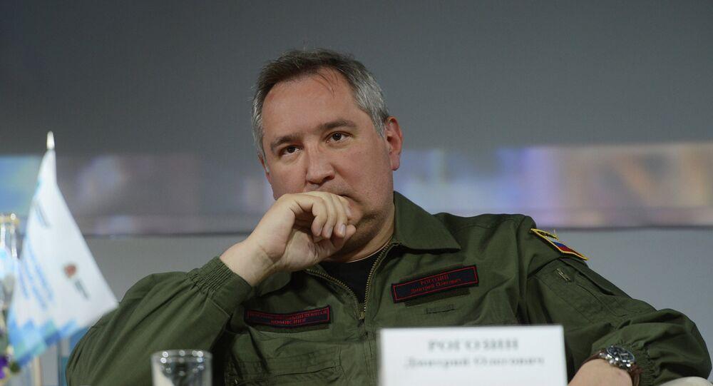 Russian Deputy Prime Minister Rogozin