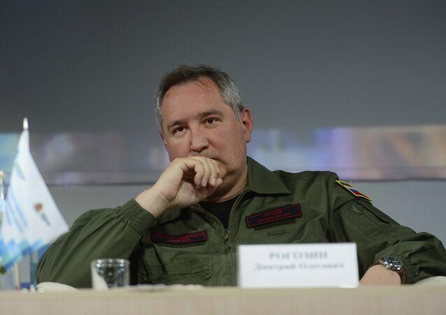 Russian Deputy Prime Minister Rogozin.