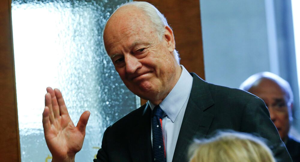 United Nations Special Envoy for Syria, Staffan de Mistura