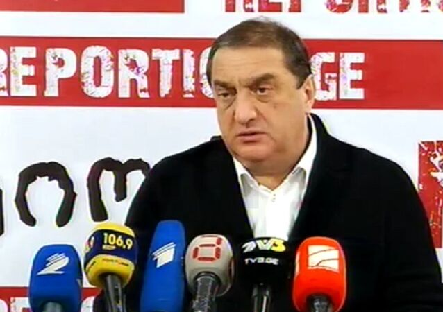 Davit Saganelidze, the leader of the parliamentary majority the Georgia's parliament, has expressed his sympathy to the people of Ukraine over Mikhail Saakashvili's appointment as governor of Odessa, calling the appointment a serious mistake by Ukrainian authorities.