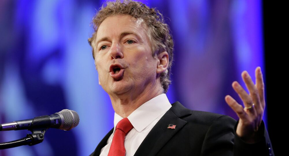 Republican presidential candidate Sen. Rand Paul
