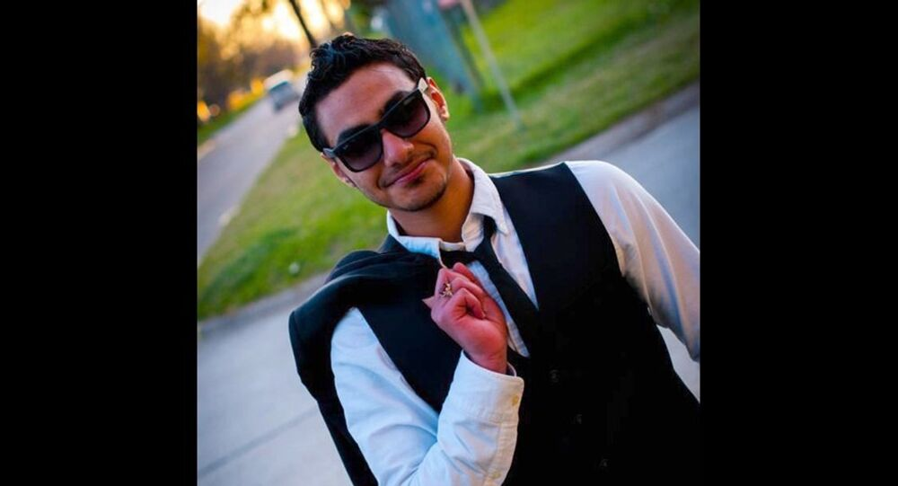 Photo of Abdul al-Arbash, a Wichita State University student who is being hailed as a hero for stopping an ISIL suicide bombing