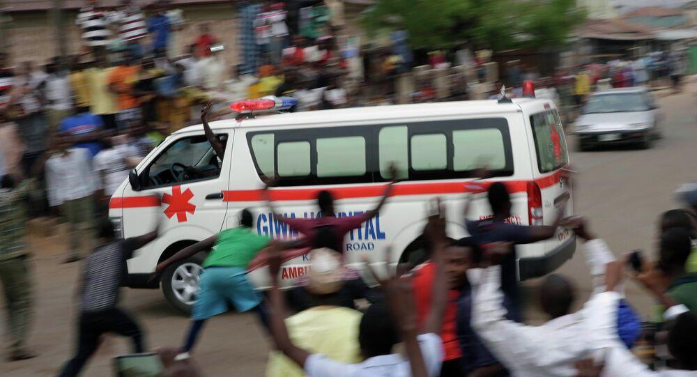 Nigerian ambulance