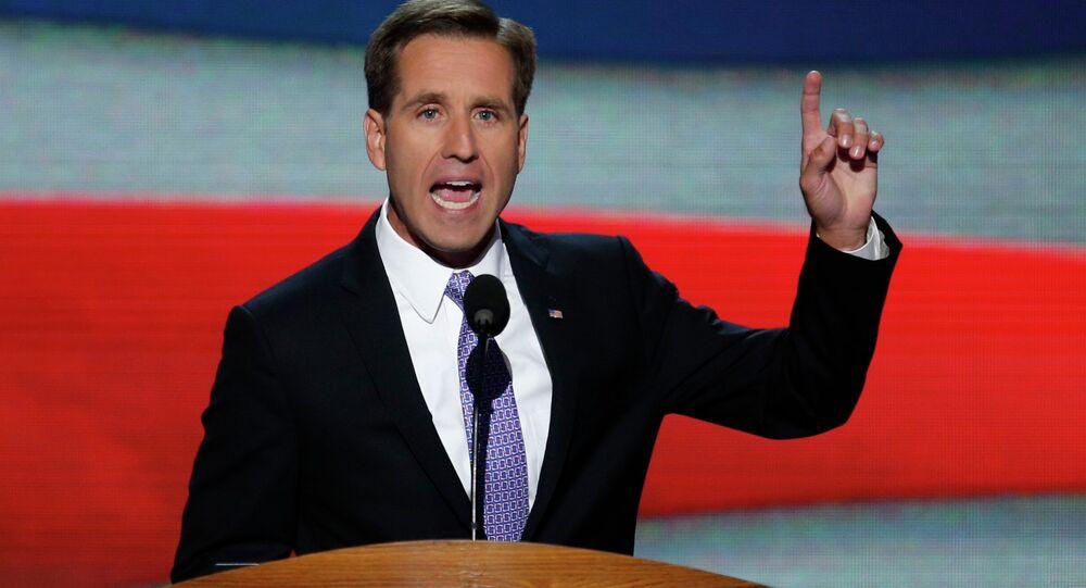 Delaware Attorney General Beau Biden, son of U.S. Vice President Joe Biden