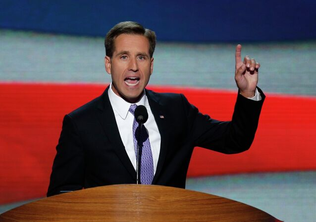 Delaware Attorney General Beau Biden, son of U.S. Vice President Joe Biden