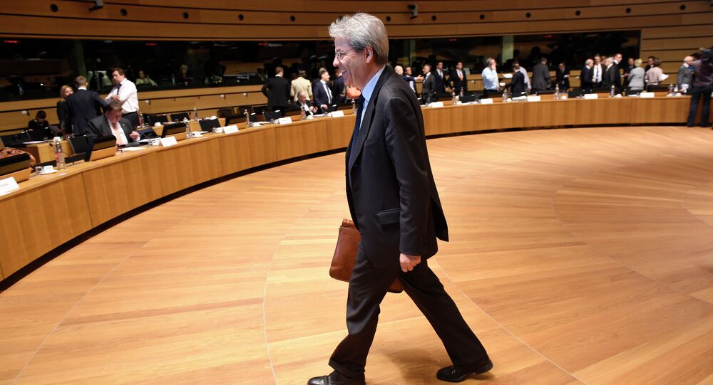 Italian Foreign Affairs minister Paolo Gentiloni