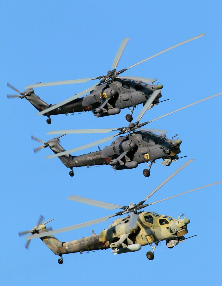 Steel Birds of Prey: Berkuts Aerobatic Team and Their Mi-28 Helicopters