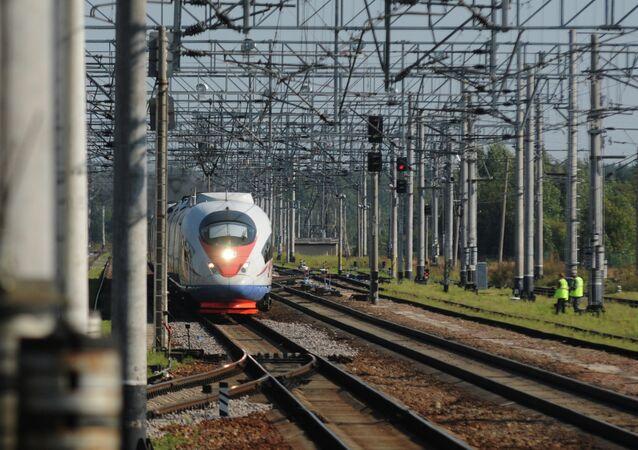 Electric train Sapsan
