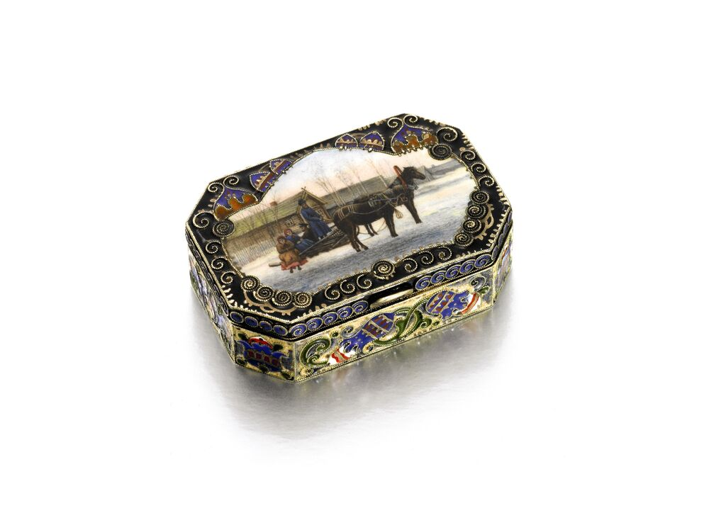 Russian Works of Art, Fabergé & Icons