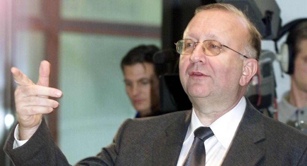 Willy Wimmer is a former permanent secretary at the German Defense Ministry