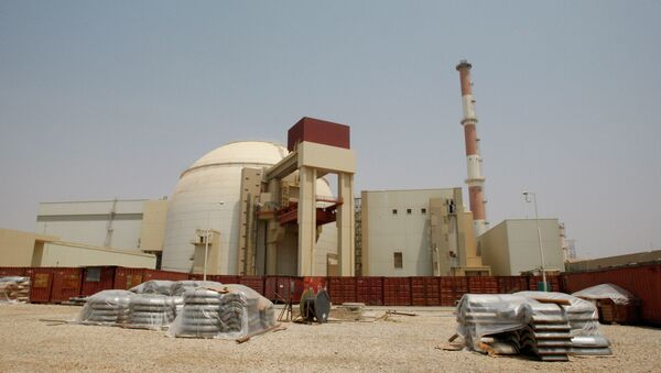 The reactor building of the Bushehr nuclear power plant is seen, outside the southern city of Bushehr, Iran - Sputnik International