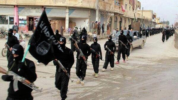 Militants from the Islamic State terror group - Sputnik International