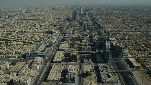 View from Kingdom Tower in Riyadh, Saudi Arabia. - Sputnik International