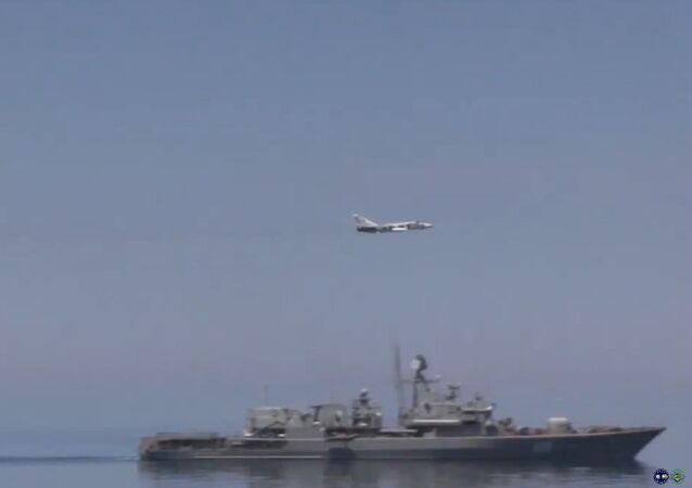A YouTube video titled USS Ross  in the Black Sea: June 1, 2015 .