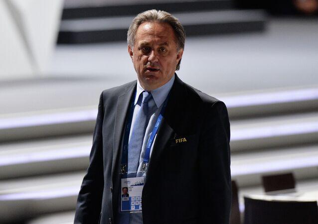 Russian Minister of Sport Vitaly Mutko