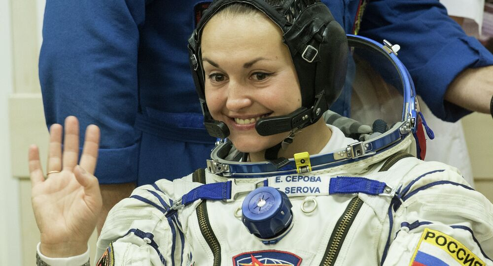 Roskosmos cosmonaut Yelena Serova of the 41/42 ISS expedition crew is at Baikonur Cosmodrome. The ISS expedition heads to the international space station in the Soyuz ТМА-14М spaceship in the early hours of September 26