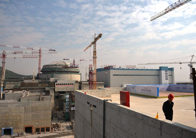 Sino-French Taishan Nuclear Power Station outside Taishan City in Guandong province
