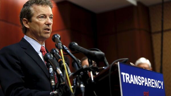 Republican senator Rand Paul of Kentucky has joined a group of lawmakers in the House of Representatives who are pushing for the publication of 28 pages from the official report on the attacks of Sept. 11, 2001 which have remained classified for more than a decade. - Sputnik International