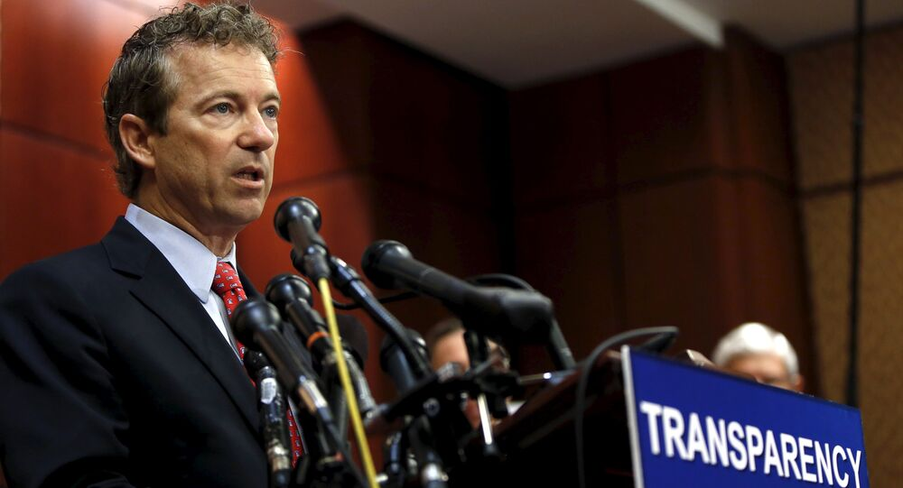 Republican senator Rand Paul of Kentucky has joined a group of lawmakers in the House of Representatives who are pushing for the publication of 28 pages from the official report on the attacks of Sept. 11, 2001 which have remained classified for more than a decade.