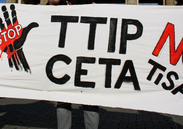 Anti-TTIP, TISA poster