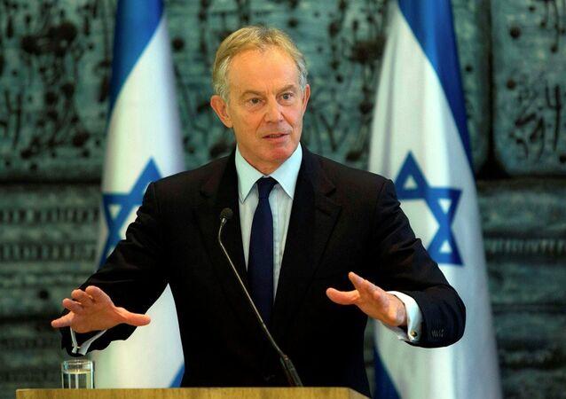 Ex British PM Tony Blair