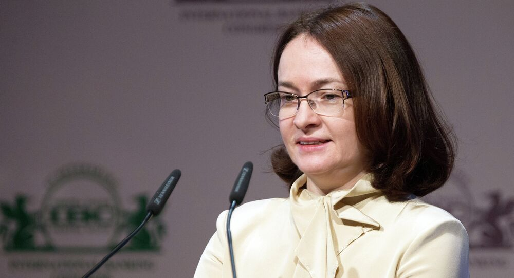 Elvira Nabiullina, chairperson of the Central Bank of Russia