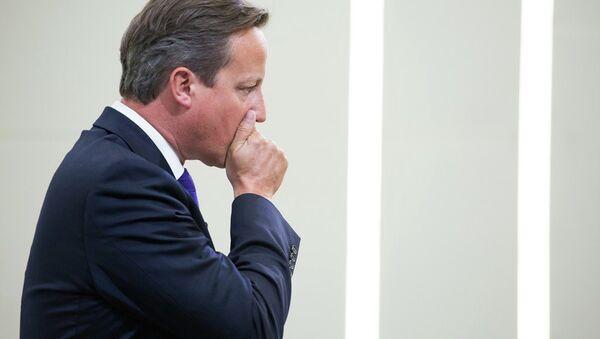 British PM David Cameron - Sputnik International