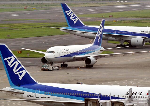All Nippon Airways (ANA) jetliner, Boeing 767