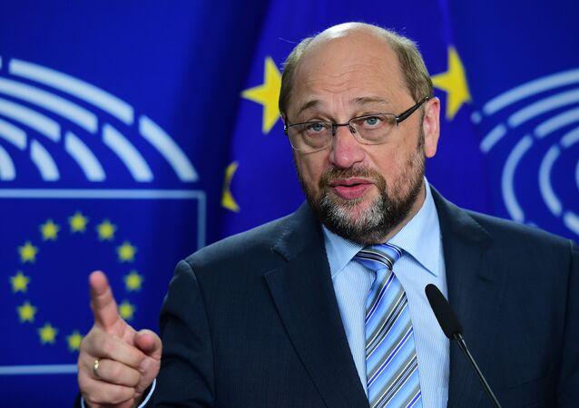 European Parliament President Martin Schulz