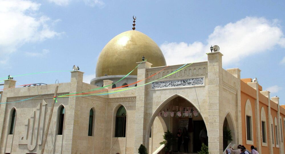 The mosque named after the Virgin Mary in Tartous, Syria
