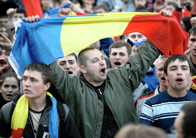 Rally in Chisinau. File photo