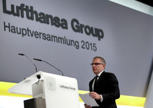 Lufthansa CEO, Carsten Spohr