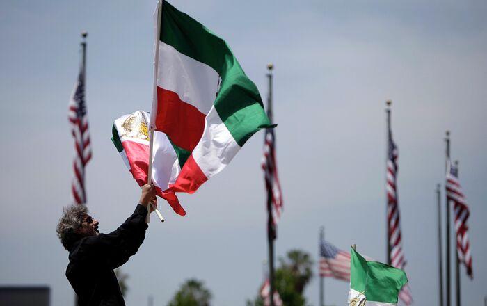 Iranian flag. File photo