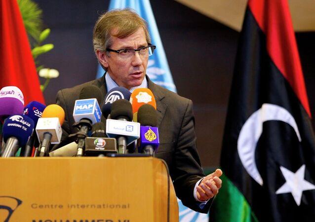 UN Special Envoy to Libya, Bernardino Leon
