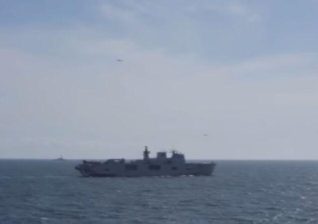 USS San Antonio in the Baltic Sea: June 8, 2015