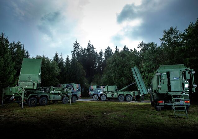 The Medium Extended Air Defense System (MEADS), built by US-based defense contractor Lockheed Martin