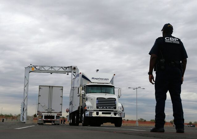 The large mobile X-ray machines that are used to detect contraband and explosives are usually deployed at the U.S.-Mexico border