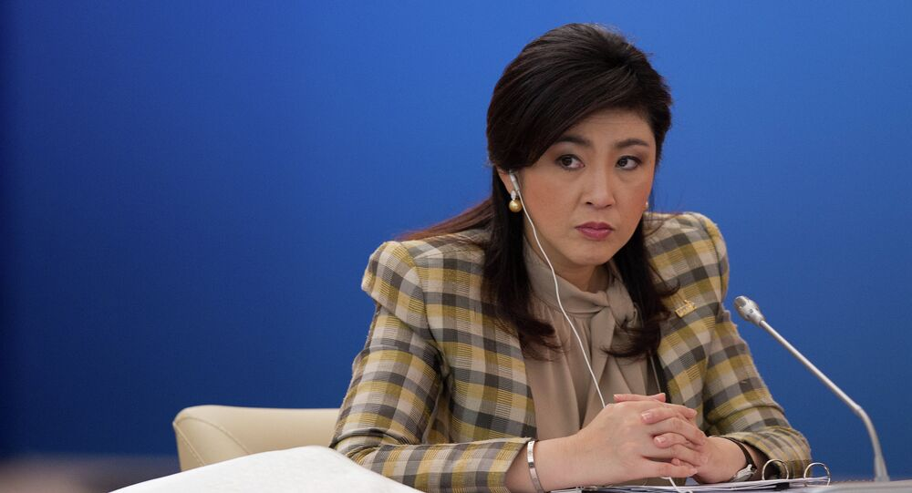 Yingluck Shinawatra. File photo