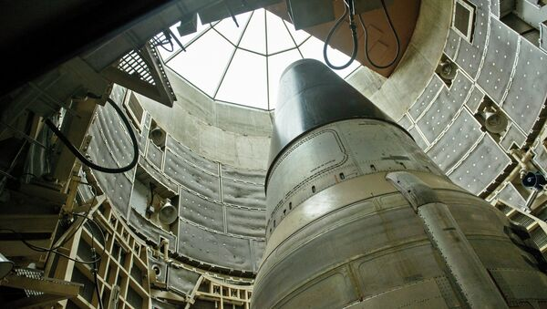 A deactivated Titan II nuclear ICMB - Sputnik International