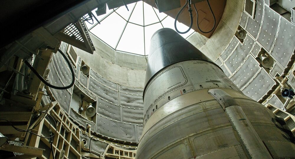 A deactivated Titan II nuclear ICMB