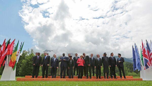 G7 summit participants - Sputnik International
