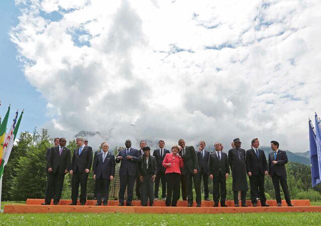 G7 summit participants
