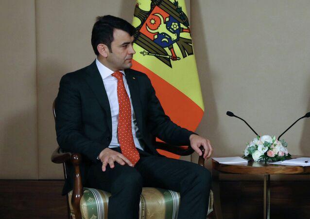 Moldovan Prime Minister Kirill Gaburich
