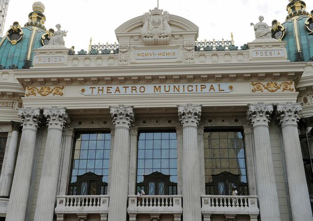 Municipal Theatre in Rio de Janeiro