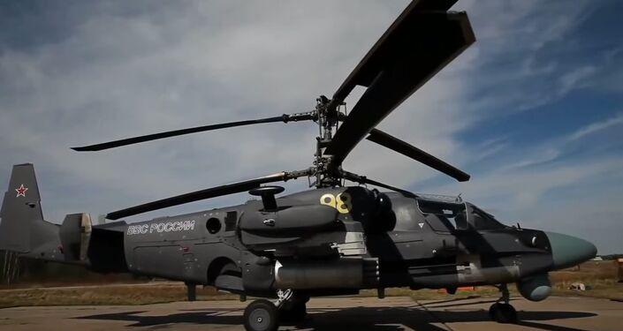 Kamov KA-52 Helicopter
